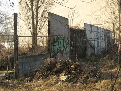 بقايا جدار برلين