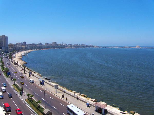 كورنيش الأسكندرية