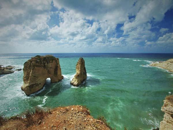 صخرة الروشة ـ بيروت، لبنان