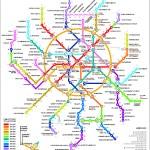 خريطة مترو موسكو