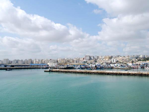 ميناء طنجة ـ المغرب