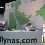 طيران ناس ـ معرض الرياض للسفر 2011