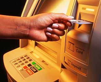 بطاقة الصرف الآلي ATM