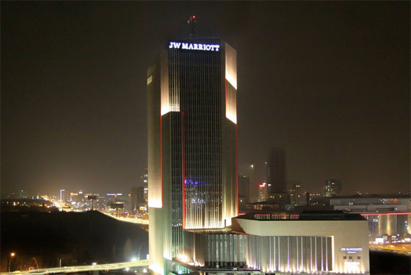 جي دبليو ماريوت مُتربعًا في قلب العاصمة التركيّة أنقرة