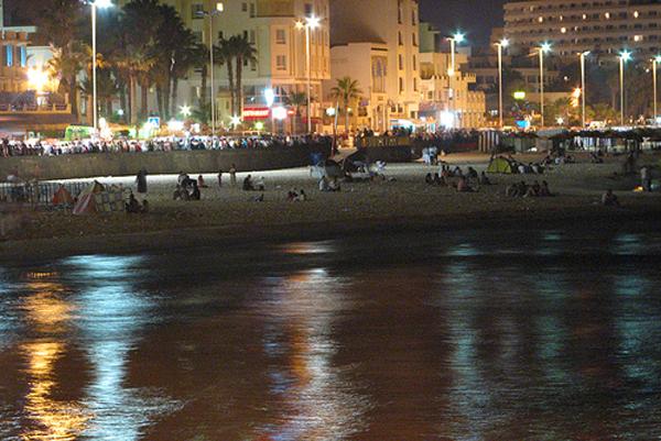 شاطئ بوجعفر في سوسة، تونس