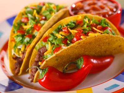 اليكى طريقة سهلة وسريعة لعمل التاكو المكسيكى