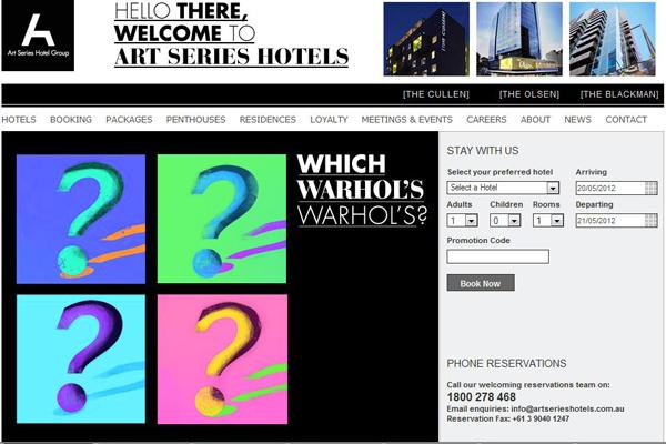 فندق استرالي يتيح للنزلاء فرصة الفوز بلوحة أصلية لأندي وارهول