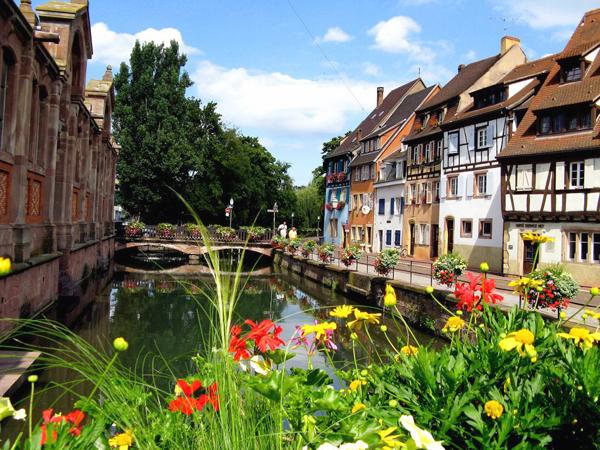 مدينة كولمار في فرنسا