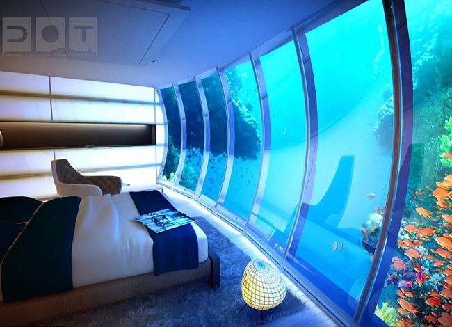 جديد لإنشاء فندق تحت الماء في دبي