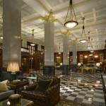 القاعة الأمامية في بهو فندق سافوي