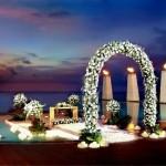 استعداد لإقامة حفلات الزواج في المنتجع