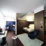 "واحدة من غرف فندق ""بوسكولو ميلانو"""