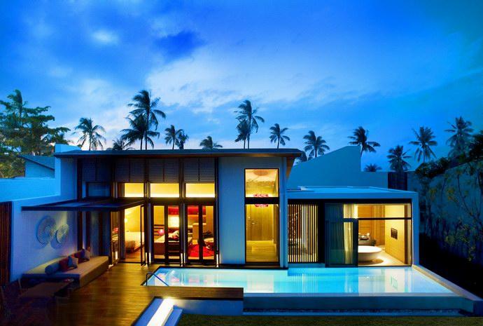 إقامة فاخرة بين أشجار المطاط على جزيرة كوه ساموي التايلاندية