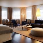 """غرفة """"الديلوكس"""" في فندق نوبيس السويدي"""