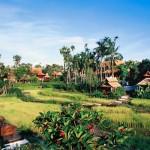 يقع المنتجع وسط مساحات شاسعة من الحقول والمناظر الطبيعية الخلابة