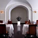 مطعم الباشا الذي يتميز بطابعه الشرقي