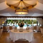 إطلالة على حمام السباحة في مطعم La Pool