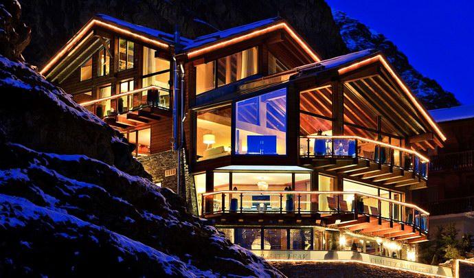 زيرمات منتجع لكبار الشخصيات على جبال الألب السويسرية