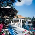 """مسبح فندق """"رافلز سنغافورة"""""""