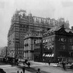 """صورة لفندق """"والدورف أستوريا"""" في نيويورك تعود لعام 1890"""