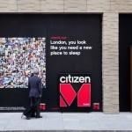 """واجهة فندق """"سيتيزين إم"""" الجديد في لندن"""