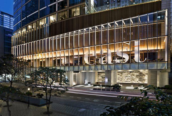 الواجهة الخارجية لفندق الشرق