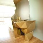 تتميز حمامات الفندق بتصميمات مبتكرة