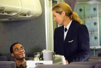 على متن الطائرة