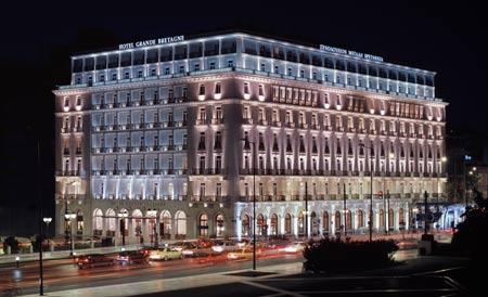 فندق بريطانيا العظمى في أثينا قبلة رؤساء الدول والمشاهير