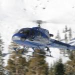الجولات بالطائرة الهليكوبتر هي إحدى أنشطة المنتجع اليومية