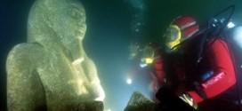 بالصور: العثور على المدينة المصرية المفقودة في أعماق البحر المتوسط