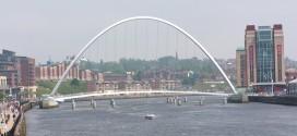 """""""جيتس هيد"""" جسر الألفية في إنجلترا…أيقونة معمارية رائعة التصميم"""
