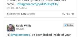 """تغريدات سائح أمريكي تنفذه بعد """"نسيانه"""" داخل محل للكتب في لندن"""