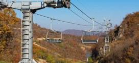 منتجع تزلج بسائح واحد في كوريا الشمالية