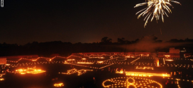 بالصور.. مهرجان ديوالي يشعل سماء الهند ويلهب مدنها