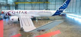 الخطوط القطرية ستكون أول شركة تستلم طائرات A350 في 12 ديسمبر