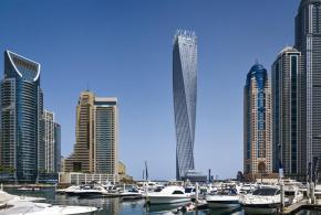 """""""برج كيان"""" أطول برج لولبي في العالم يفوز بجائزة """"مشروع برج العام"""""""