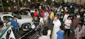 30 ألف زائر لـ معرض السيارات في جدة