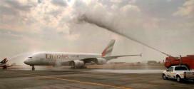 """شاهد بالفيديو .. 10 محطات جديدة تستقبل إيرباص A380 لـ""""طيران الإمارات"""""""