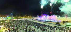 ربع مليون زائر لفعاليات مهرجان مسقط 2015 خلال أسبوعه الأول