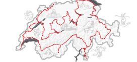 """""""الجولة السياحية الكبرى"""".. برنامج سويسرا الجديد عبر طريق طوله 1600 كلم"""