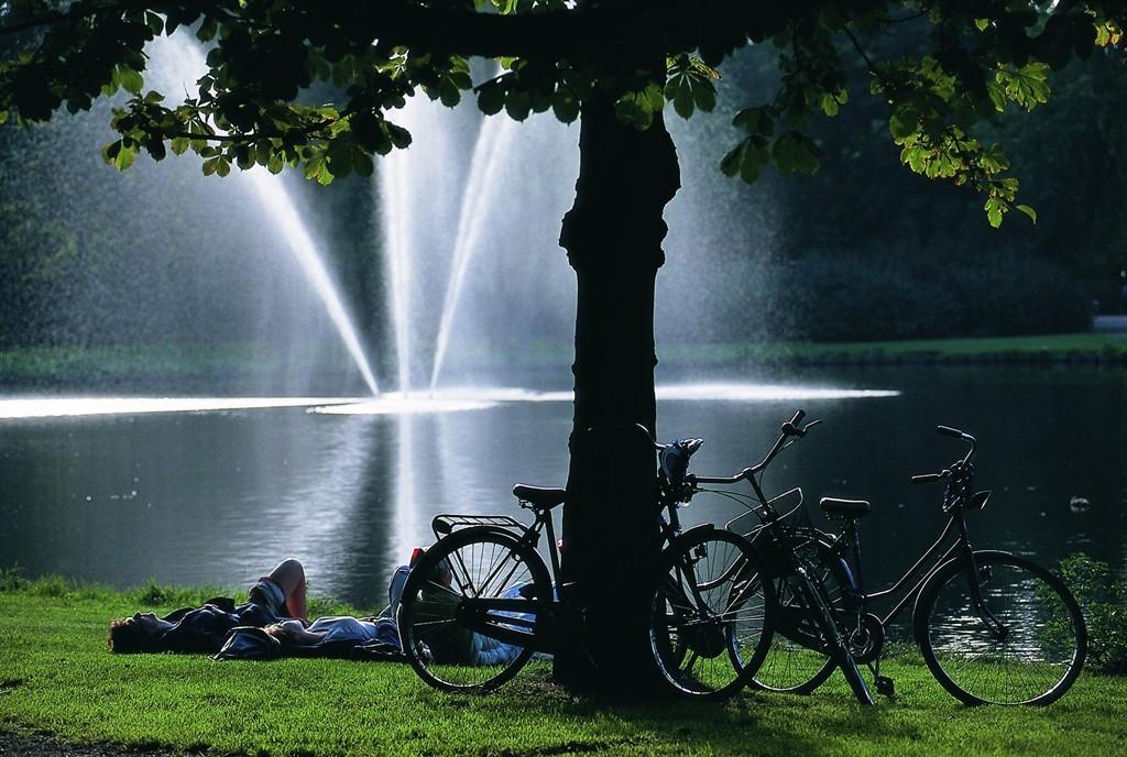 حديقة Vondelpark امستردام هولندا
