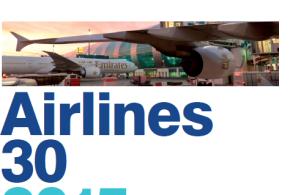 """""""طيران الإمارات"""" أغلى العلامات التجارية لشركات الطيران في العالم لعام 2015"""