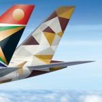 الاتحاد للطيران و جنوب افريقيا للطيران