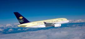 """""""الخطوط السعودية"""" تقدم موعد إطلاق رحلات تبوك-القاهرة إلى نهاية مارس"""