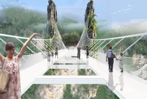الصين: هل أنت مستعد للسير فوق أطول و اعلى جسر زجاجى بالعالم ؟ (بالصور)