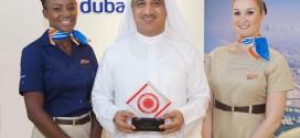 """فلاي دبي تحصد جائزة بزنس ترافلر كـ """"أفضل ناقلة إقليمية تخدم الشرق الأوسط"""""""