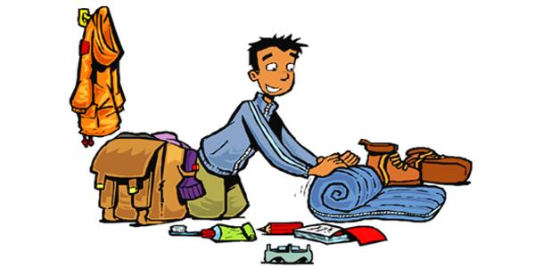 تجهيز الحقائب