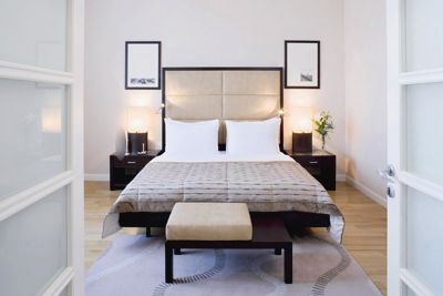 غرفة النوم في فندق موفنبيك إسطنبول