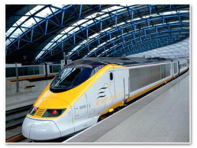 قطار يورو ستار